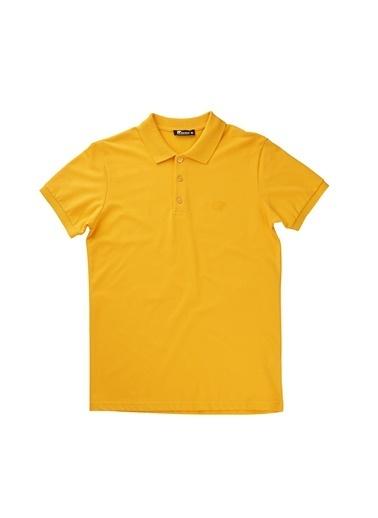 Bad Bear Erkek Polo Tişört Basic Pique 180107002-Mus Hardal